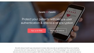 CareKit+ZeroKit Webinar Jan 12 2017