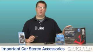 Important Accessories for Your Car Stereo | Crutchfield Video