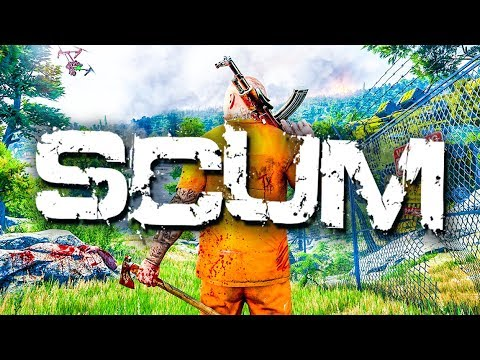 NEW Zombie Survival Game! ⚠️ SCUM Gameplay