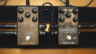 Immerse vs. Immerse Mk II by Neunaber (in-depth reverb comparison)