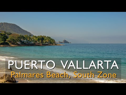 Where is Palmares Beach in Puerto Vallarta Jalisco Mexico?