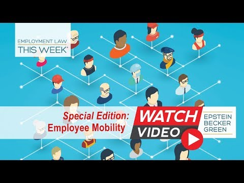 Employment Law This Week® - Episode 117 - Week of May 14, 2018