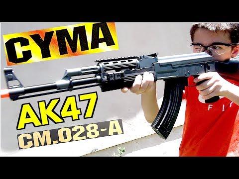 CYMA AK47 Airsoft Gun