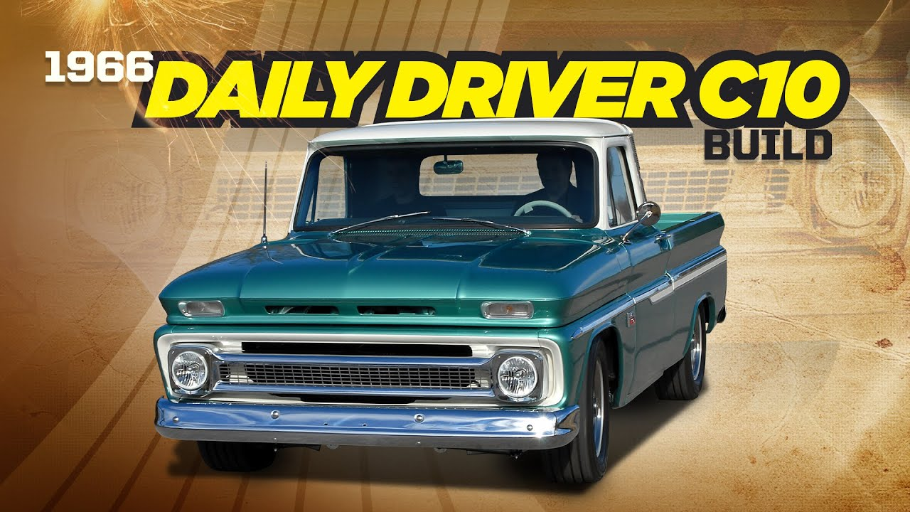 FULL BUILD: 1966 C-10 Long Bed Barn Find to Short Bed Beauty