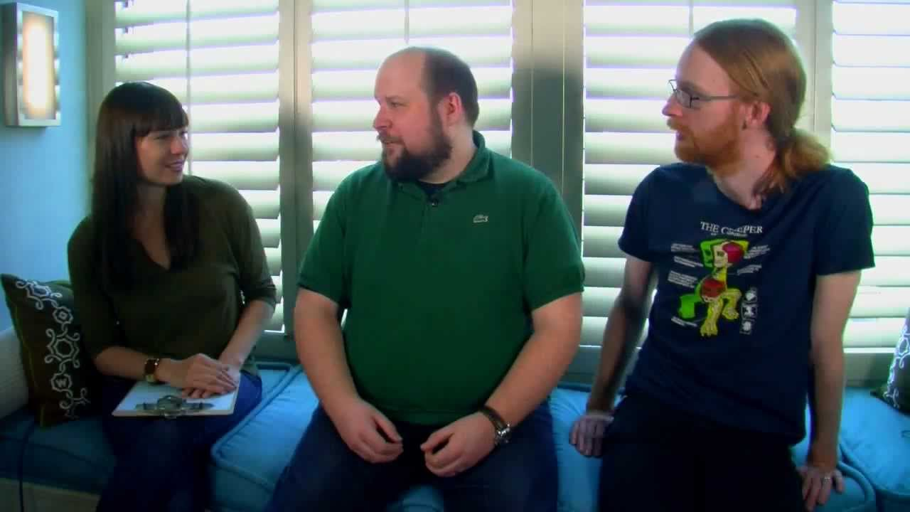 Interview With Notch And Jeb Of Minecraft Youtube
