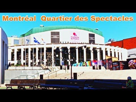 Montreal - Quarter Of Spectacles - Latin Quarter - Quebec - Canada