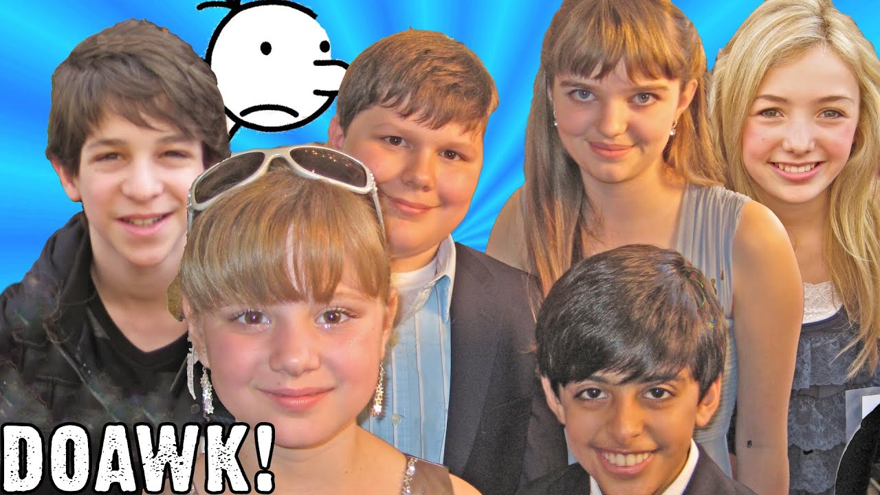 Diary Of A Wimpy Kid Cast Peyton List Zachary Gordon Karan Brar Laine Macneil Robert Capron Youtube