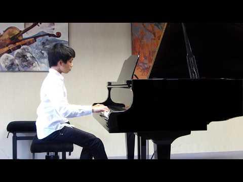 Chopin, Nocturne Op. 9 No. 2 - Mathys (Conservatoire de Fontainebleau), le 28/06/2017