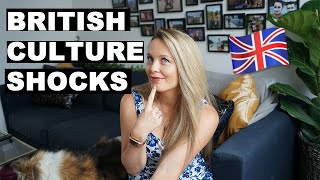 BRITISH CULTURE SHOCKS | 10 First Impressions | Expat in London