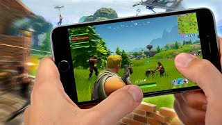 Hey! WHEN AND HOW TO PLAY Fortnite IN ANDROID & iOS!! (100% REAL AND AMAZING) Tablet and Mobile