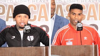 Gervonta Tank Davis vs. Yuriorkis Gamboa - FULL FINAL PRESS CONFERENCE & FACE OFFS | Showtime Boxing