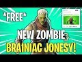 NEW ZOMBIE BRAINIAC JONESY HERO! Fortnitemares 2018 | Fortnite Save The World News