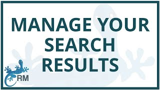 Systematic reviews: how to manage your search results