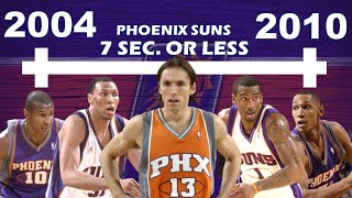 Timeline of How STEVE NASH and the 7 SECONDS OR LESS PHOENIX SUNS FAILED to WIN an NBA TITLE