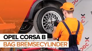 Udskiftning af Bremsekaliber rep sæt VW SHARAN 2019 - videoguide