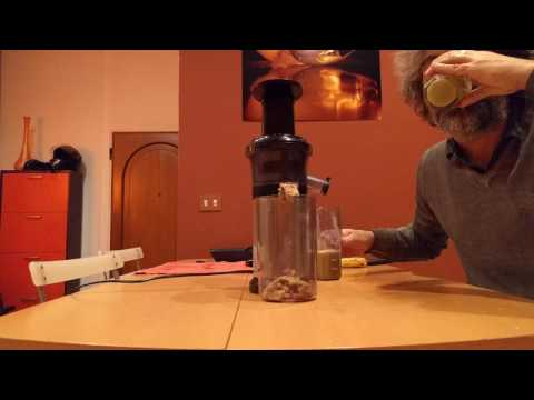 Panasonic Slow Juicer Test : Panasonic MJ-L500 , Wyciskarka , sokowirowka, Test, wol ...