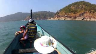 Butterfly beach/Honeymoon beach with dolphin trip- Goa-Палолем- пляж Бабочка