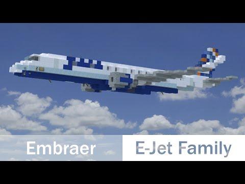 Minecraft Embraer E-Jets