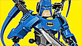 Batman Ultra Build 4526 Lego Dc Superheroes Stop Motion Review