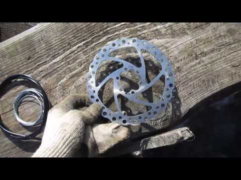 Установка дискового тормоза вместо v-brake