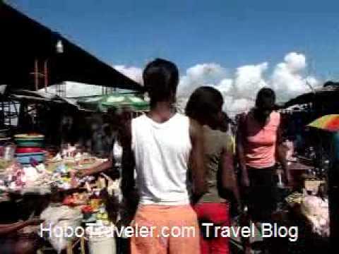 Market in Les Cayes Haiti