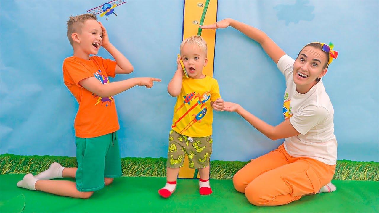 Baby Chris quiere ser más alto - Vlad y Niki