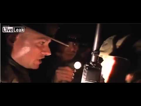 USMC Drill Instructor gives an ass chewing to kid who doesn't want to do his night training