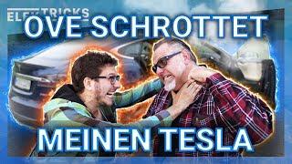 Ove von T&T Tesla schrottet meinen Tesla (und findet dann eine geniale Lösung)