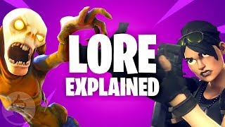 Fortnite Lore Explained - How Battle Royale Connects To Save The World