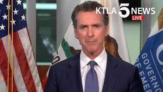 Update: california gov. gavin newsom on thursday issued the broadest loosening of his stay-at-home order so far, allowing some retailers to reopen but not ha...