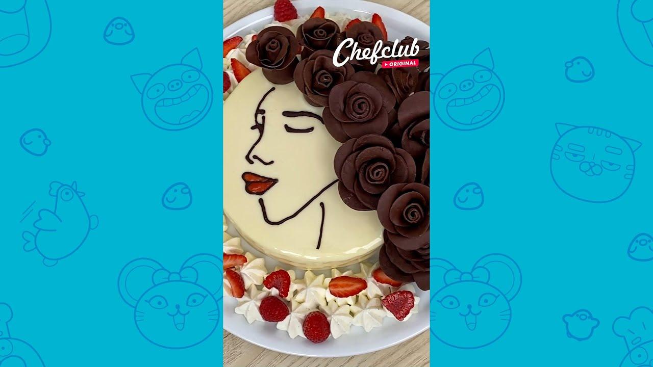 🌹🎂 Beautiful Mama Cake #SHORTS