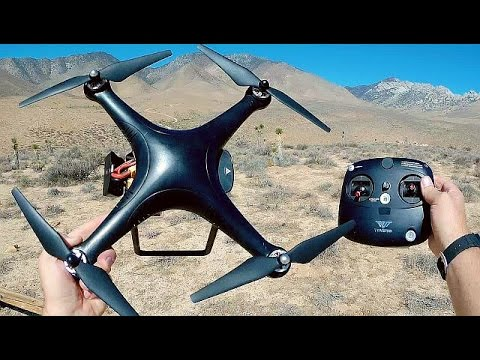 TOVSTO Aegean V2 Easy GPS Camera Drone Flight Test Review