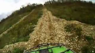 mountain ridge atv hillclimb-crud cutter racing