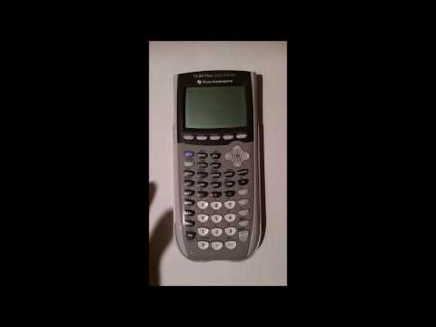 How to do Logarithms (Logs) on a TI-84 Plus Silver Edition Graphing Calculator