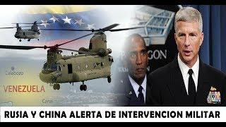 🔴 RUSIA y CHINA Advierten que EEUU se Prepara Para Invadir Venezuela