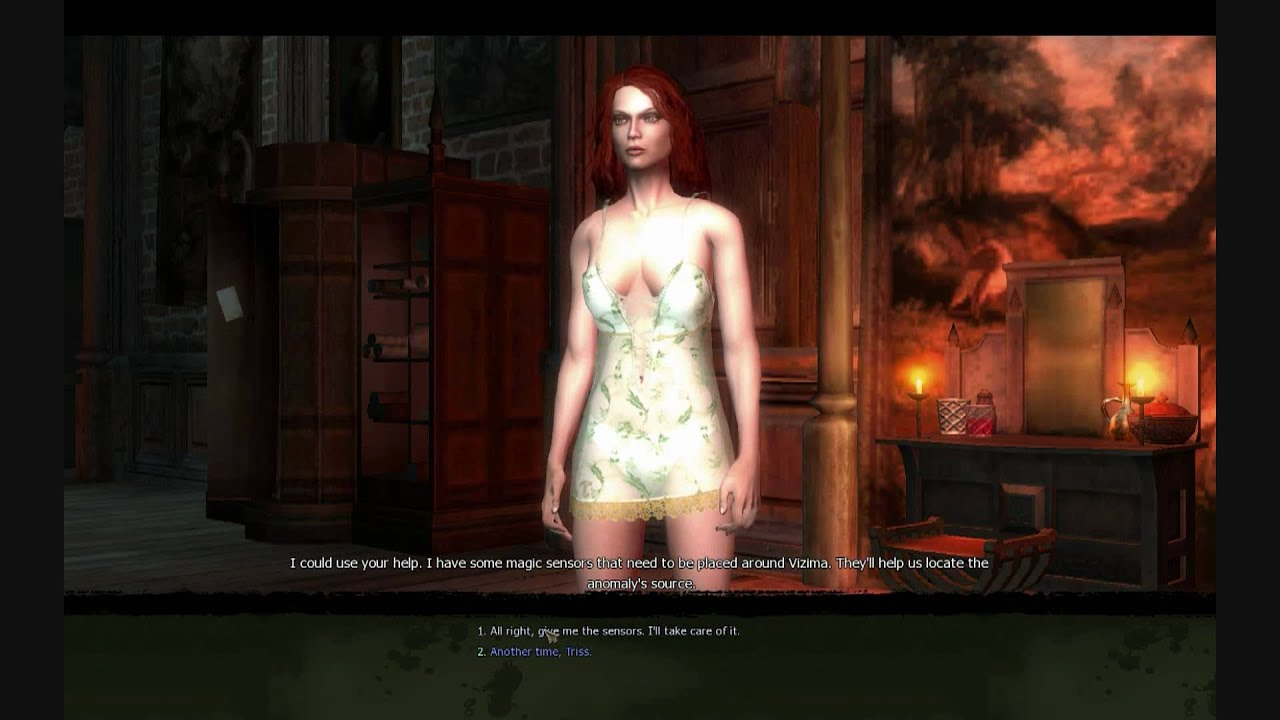 Witcher 3 where is triss house