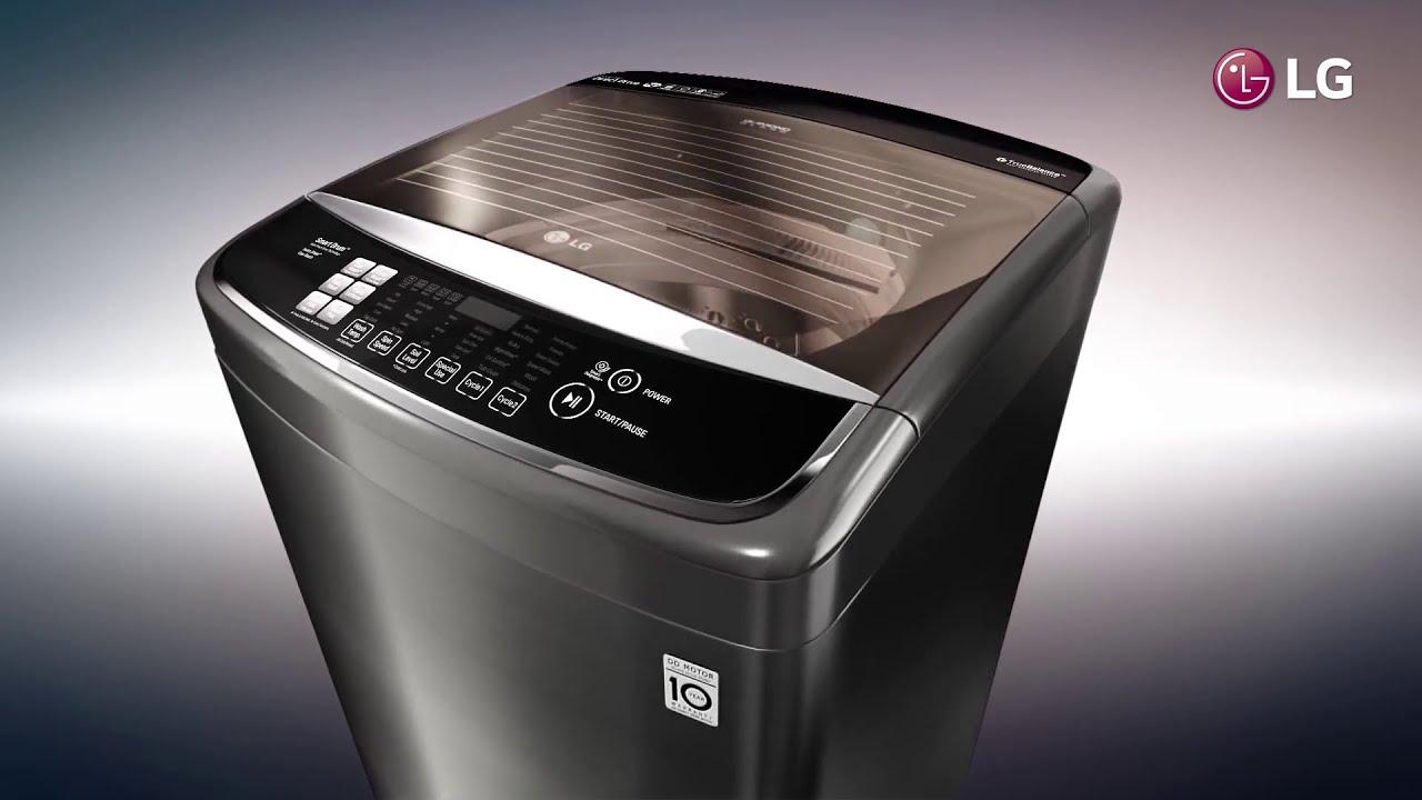 Por qué te conviene una lavadora de carga superior LG con motor ...