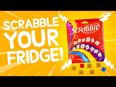Scrabble Refrigerator Magnet Tiles