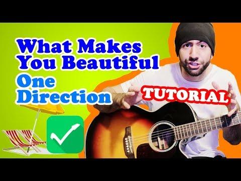 CANZONE CON 3 ACCORDI: What Makes You Beautiful - Chitarra Principianti