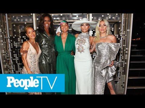 Alicia Keys Kicks Off Grammys With Michelle Obama, Lady Gaga, Jada Pinkett Smith And J.Lo | PeopleTV Mp3