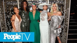 Alicia Keys Kicks Off Grammys With Michelle Obama, Lady Gaga, Jada Pinkett Smith And J.Lo | PeopleTV