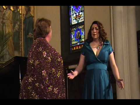 "Bellini's ""Norma""  duet Carla Thelen Hanson and Debra Patchell"