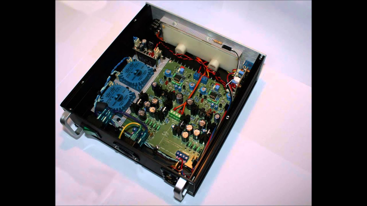 Diy Qrv02 Headphone Amplifier With Vu Meters Youtube Listen Better T Use Ic Lm1875 Currentmode Circuit