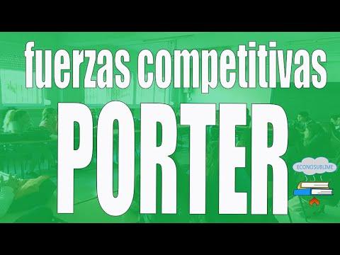 8.2 LAS FUERZAS COMPETITIVAS DE PORTER