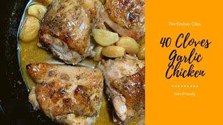 How to Make 40 Cloves Garlic Chicken Recipe