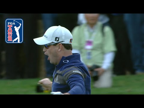 Zach Johnson's hole out to beat Tiger Woods at 2013 Hero World Challenge