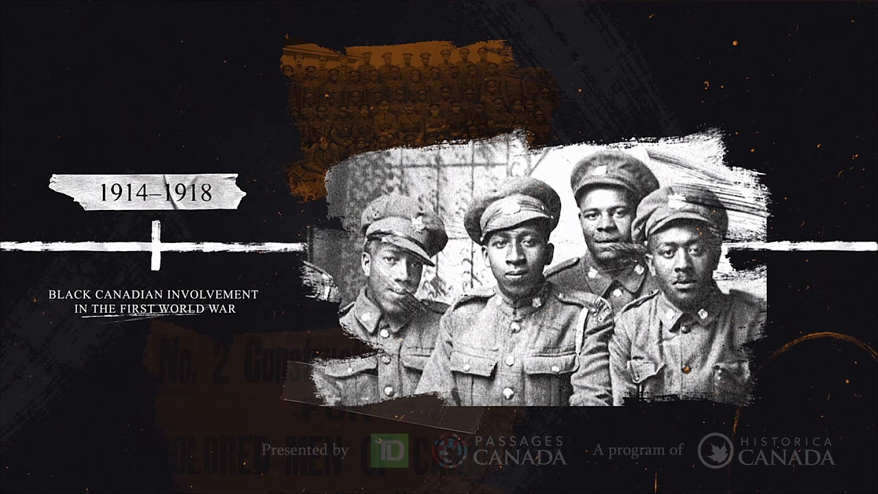 Black History in Canada: A Select Timeline