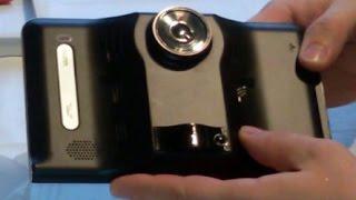 Обзор автонавигатор из Китая видеорегистратор-навигатор-радар дэтектор Q800 или mt75 первая часть(GPS-навигатор на Android 4.4 с 7 дюймовым экраном, видеорегистратором, анти радаром, FM, WIFI и встроенной памятью..., 2015-06-21T13:19:19.000Z)