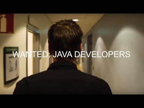 We are searching for Java Developers - with subtitles