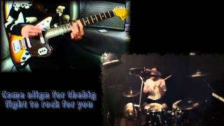 Cherub Rock Cover- Guitar - Drum & Lyrics.mp4